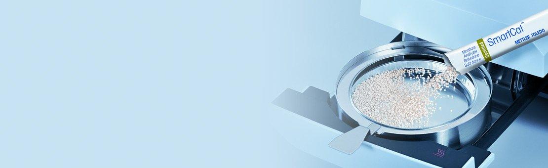 Sustancia de referencia para el analizador de humedad SmartCal™
