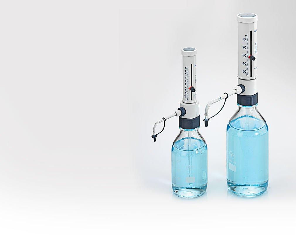 Disp-X manual bottle top dispenser for large volume liquid handling