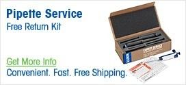 Pipette Service Return Kit